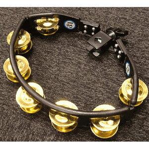 LP LP175 [Cyclops Mountable Tambourine / Black, Brass Jungle]