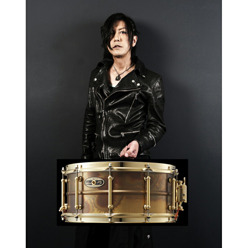 Pearl 35th Anniversary Limited Edition STA1465FB/SM [宮脇知史 Signature Snare Drum]