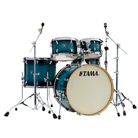 """TAMA CL52KRS-BAB [Superstar Classic(All Maple) / Blue Lacquer Burst:22""""バスドラム・シェル・キット] 【お取り寄せ品】"""