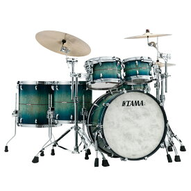 "TAMA STAR BUBINGA Exotix - Scandinavian Birch - ""Blue Viking"" Limited Drum Kit [TB52CZSSS-BVK + TBS1465SS-BVK]【全世界限定:30set】"