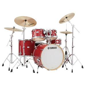 "YAMAHA TMP2F4SAZR18 [Tour Custom / 22""バスドラムスタンダードセット + A Zildjian Rock シンバルセット/3シンバル仕様] 【BD22, FT16, TT12&10, SD14, ハードウェア&シンバル一式】"