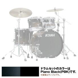 "TAMA WBS42S-PBK [Starclassic Walnut/Birch 4pc Set (22""BD, 16""FT, 12"" & 10""TT with Double Tom Holder) / Piano Black]"
