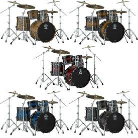 YAMAHA LIVE CUSTOM HYBRID OAK 4pc Drum Set [LHB2216 + LHP6F3 Kit]
