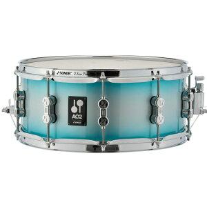 "SONOR AQ2-1306SDW #ASB [AQ2 Series Maple Snare Drum 13"" x 6"" / アクアシルバーバースト・ラッカーフィニッシュ]"