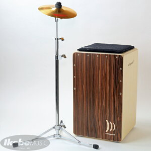 Schlagwerk Percussion Cajon la Peru 30th Anniversary Starter kit [SR-CP4030]【小出ハンドスプラッシュ、TAMAシンバルスタンド、座面パッド、本体ケース、スタンドケース付属!】