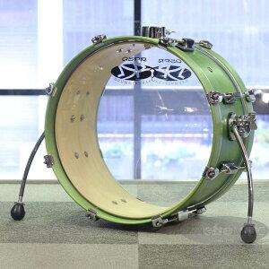 """Drummers Base 16¥"" Utility Custom Bass Drum ""LI'L KICK"" SHAMROCK GREEN by DRUMMERS BASE"""