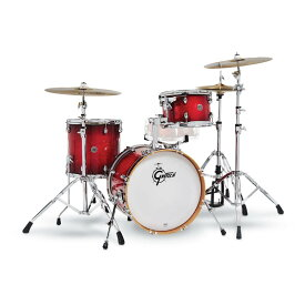 "Gretsch CT1-J483-GCB [Catalina Club 3pc Drum Kit / BD18"", FT14"", TT12"" / Gloss Crimson Burst] 【お取り寄せ品】"
