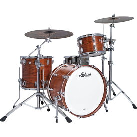 """Ludwig Classic Oak Pro Beat 3pc Drum Kit [L7344AXTWC / BD24"""", FT16"""", TT13"""" / Tennessee Whiskey Lacquer]"""