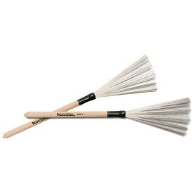 Innovative Percussion WBR-3 [Fixed Wood Handle Wire Brushes / Medium]