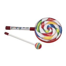 【10月下旬入荷予定】 REMO ロリポップドラム 小 / Kids Lollipop Drum [LREMET710600] 【キッズにもおすすめ!】