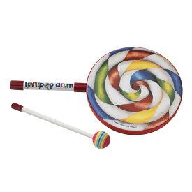 【10月下旬入荷予定】 REMO ロリポップドラム 中 / Kids Lollipop Drum [LREMET710800] 【キッズにもおすすめ!】
