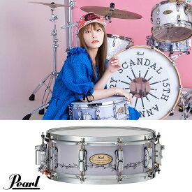 Pearl (パール) RN1450S/C [Signature Snare Drum RINA Model ~Limited Edition~] 【期間限定受注生産品】 【2022年3月発売予定】 SCANDAL スキャンダル
