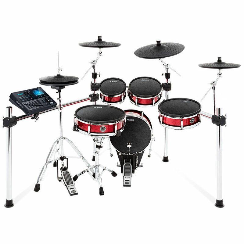 ALESIS Strike Kit 3 Cymbals Set Up ※ドラムペダル、ハイハット・スタンド別売 【ikbp10】