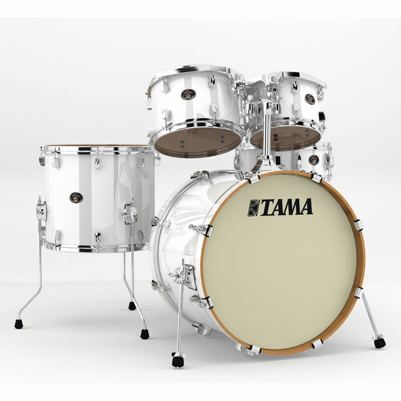 "TAMA VP52KRS-PWH [Silverstar 22""BD シェル・キット]【お取り寄せ品】"