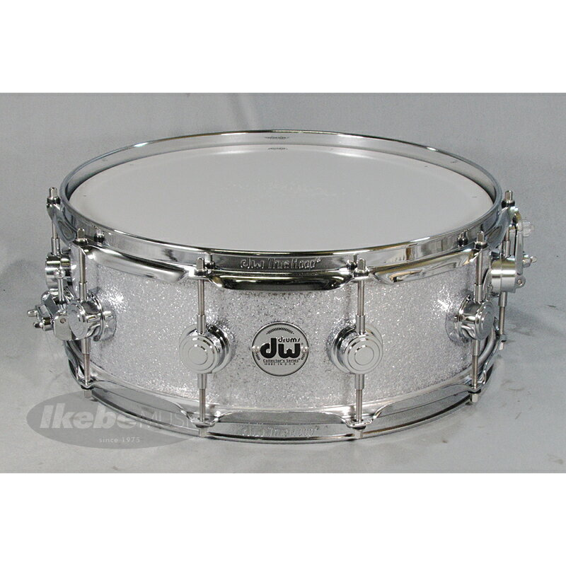 "dw DW-CL1405SD/FP-SLSP/C [Collector's Maple 14"" x 5"" / Finish Ply: Silver Sparkle]"