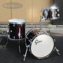 Gretsch USA Custom 3pc Drum Set [Dark Walnut Gloss Lacquer] 【シングルタムホルダー付属】