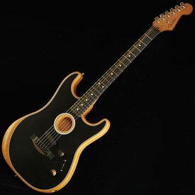 Fender American Acoustasonic Stratocaster (Black) 【ikbp5】