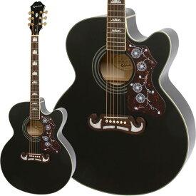 Epiphone(エピフォン)アコースティックギター J-200EC Studio (Black)