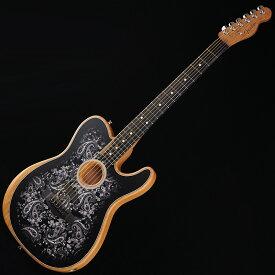 Fender(フェンダー)エレキギター Limited Run American Acoustasonic Telecaster Black Paisley 【即納可能】 【ikbp5】 新品 テレキャスター
