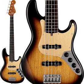 Fender(フェンダー)エレキベース Deluxe Jazz Bass V Kazuki Arai Edition (2-Color Sunburst/R) [新井和輝 Signature Model] 【10月下旬以降入荷予定】【ikbp5】