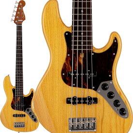 Fender(フェンダー)エレキベース Deluxe Jazz Bass V Kazuki Arai Edition (Vintage Natural/R) [新井和輝 Signature Model] 【10月下旬以降入荷予定】【ikbp5】