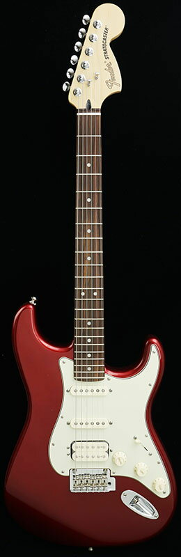 Fender Deluxe Stratocaster HSS (Candy Apple Red/Rosewood) [Made In Mexico] 【期間限定プライス】 【ポイント5倍】