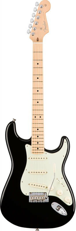 """Fender American Professional Stratocaster (Black/Maple) [Made In USA] 【フェンダー""""Fシリーズ""""ギグバッグプレゼント!】 【ポイント5倍】"""