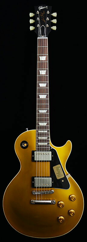 Gibson CUSTOM SHOP IKEBE Orders Standard Historic 1957 Les Paul Gold Top Reissue With Black Plastic Parts (Antique Gold/Dark Back) #R7 60463 【PGC-GIBSON】