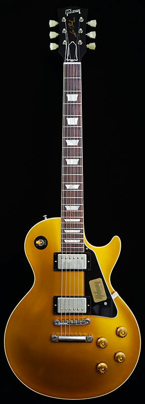 Gibson CUSTOM SHOP IKEBE Order Standard Historic 1957 Les Paul Gold Top Reissue With Black Plastic Parts (Antique Gold/Natural Back) #R7 60458 【PGC-GIBSON】