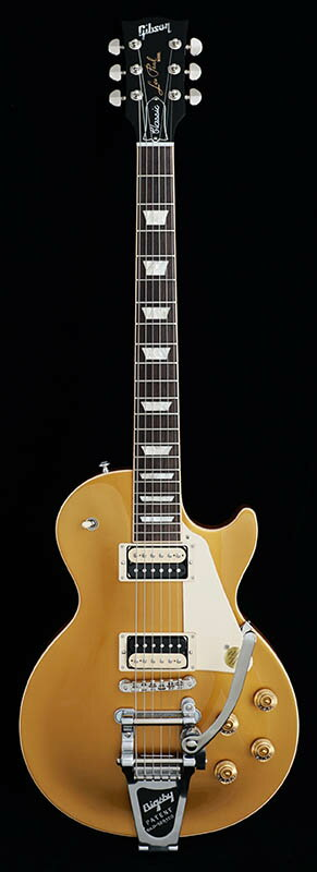 Gibson Les Paul Classic Bigsby Zebra 2017 Proprietary (Gold Top) [Gibson USA 2017 Models] 【本数限定アウトレット超特価】
