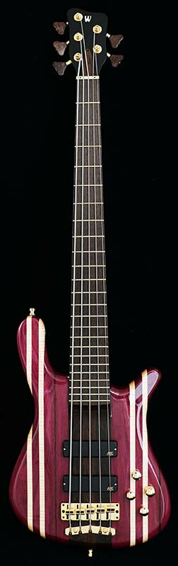 "Warwick Custom Shop Streamer Stage I 5st ""Rainbow Stripe"" [# L162141-16] 【特価】"
