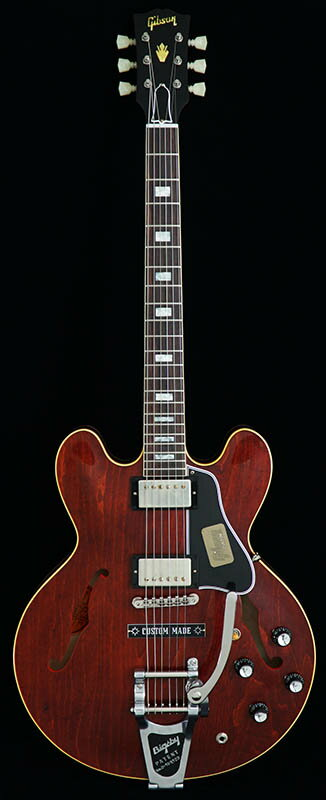 Gibson Custom Shop Historic Collection 1963 ES-335 Block Reissue Plain Top w/ Bigsby VOS (Antique Viking Red) 【ポイント5倍】