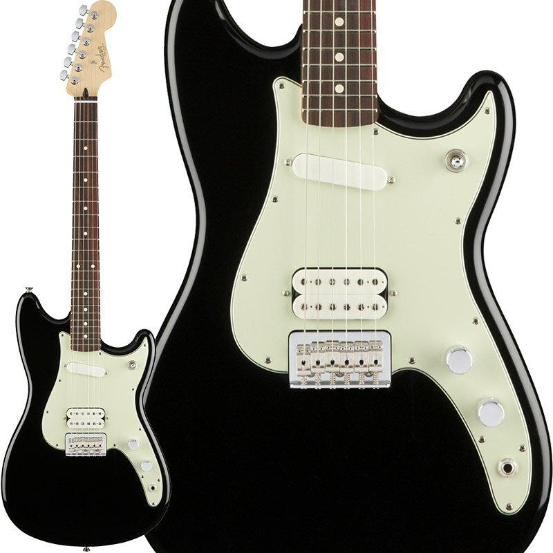Fender Duo-Sonic HS (Black/Pau Ferro) [Made In Mexico] 【ポイント5倍】