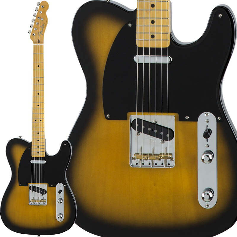 Fender Traditional 50s Telecaster (2-Color Sunburst) [Made in Japan] 【数量限定!ギターアンプ VOX Pathfinder10プレゼント!!】 【ポイント5倍】