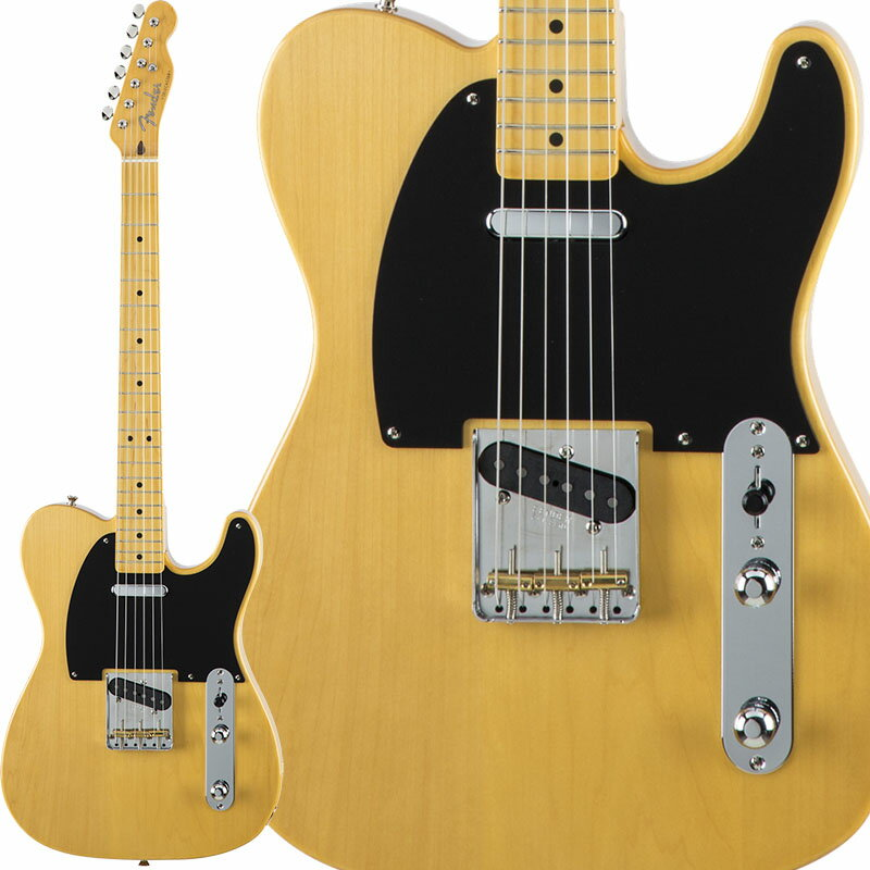Fender Traditional 50s Telecaster (Vintage Natural) [Made in Japan] 【数量限定!ギターアンプ VOX Pathfinder10プレゼント!!】 【ポイント5倍】