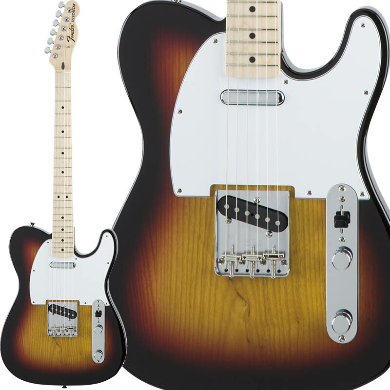 Fender Traditional 70s Telecaster Ash (3-Color Sunburst/Maple) [Made in Japan] 【数量限定!ギターアンプ VOX Pathfinder10プレゼント!!】 【ポイント5倍】