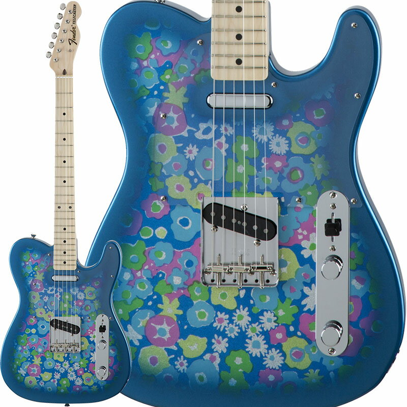 Fender Traditional '69 Telecaster (Blue Flower) [Made in Japan] 【数量限定!ギターアンプ VOX Pathfinder10プレゼント!!】 【ポイント5倍】