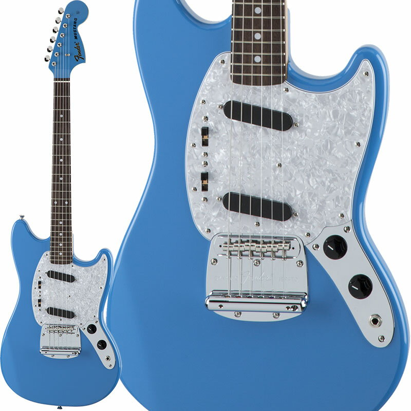 Fender Traditional 70s Mustang Matching Head (California Blue) [Made in Japan] 【数量限定!ギターアンプ VOX Pathfinder10プレゼント!!】 【ポイント5倍】