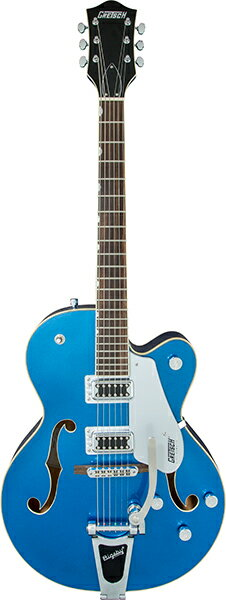GRETSCH Electromatic Collection G5420T Electromatic Hollow Body Single-Cut with Bigsby (Fairlane Blue)
