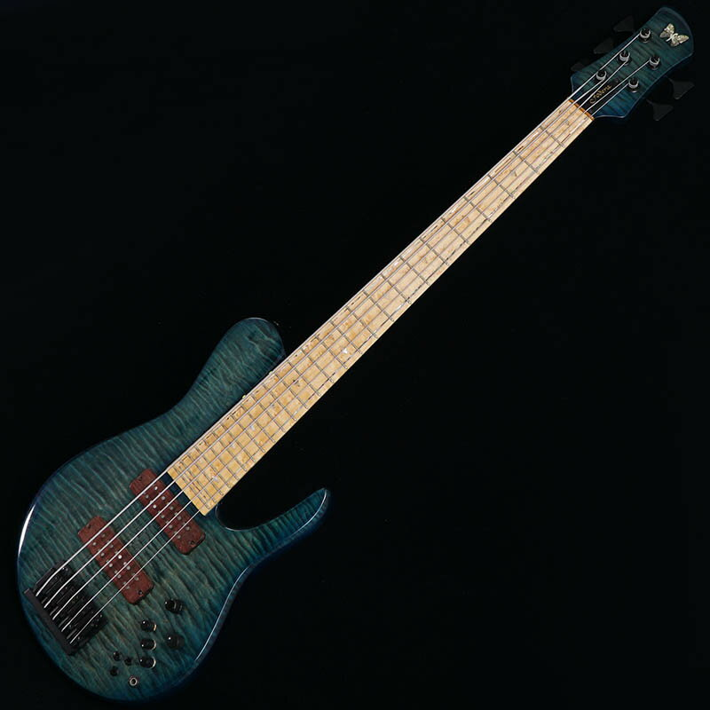 """Fodera Imperial 5 Elite MG Shape 35"""" / Flame Maple Top 【USED】 【中古】"""