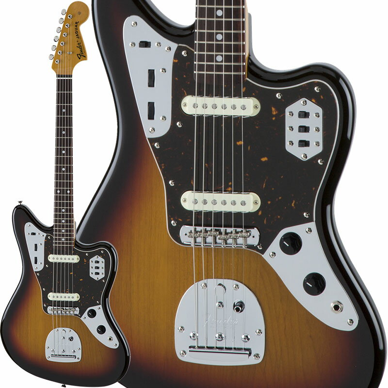 Fender Traditional 60s Jaguar (3-Color Sunburst) [Made in Japan] 【数量限定!ギターアンプ VOX Pathfinder10プレゼント!!】 【ポイント5倍】