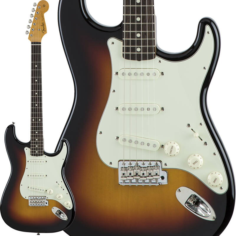 Fender Traditional 60s Stratocaster (3-Color Sunburst) [Made in Japan] 【数量限定!ギターアンプ VOX Pathfinder10プレゼント!!】 【ポイント5倍】