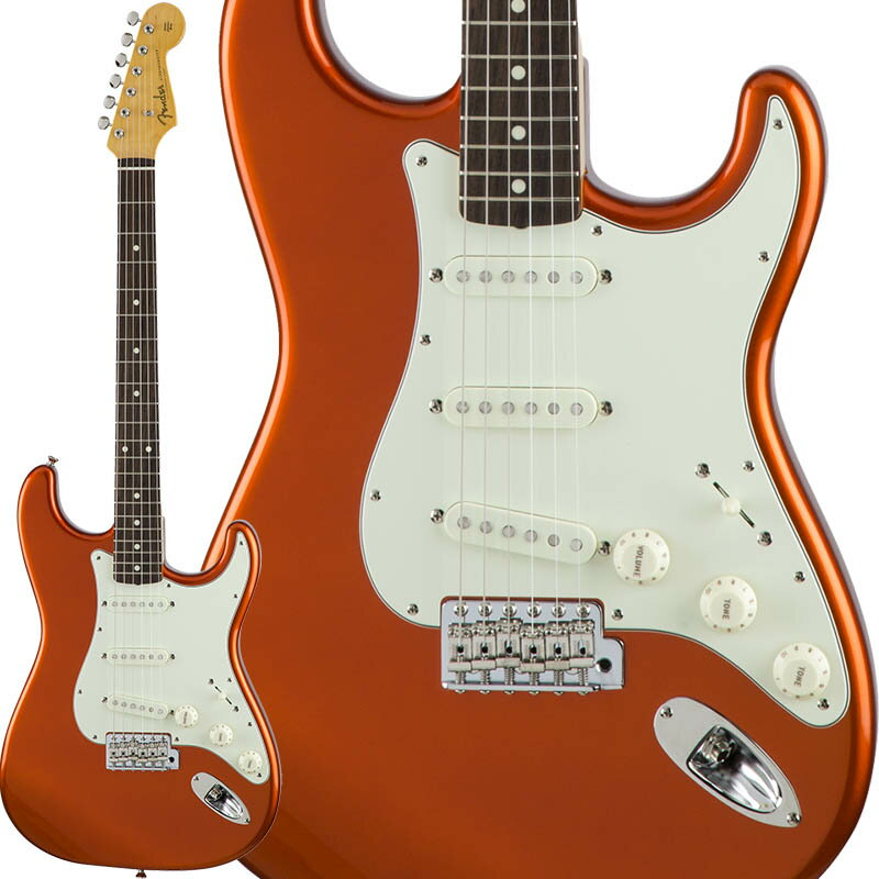 Fender Traditional 60s Stratocaster (Candy Tangerine) [Made in Japan] 【数量限定!ギターアンプ VOX Pathfinder10プレゼント!!】 【ポイント5倍】