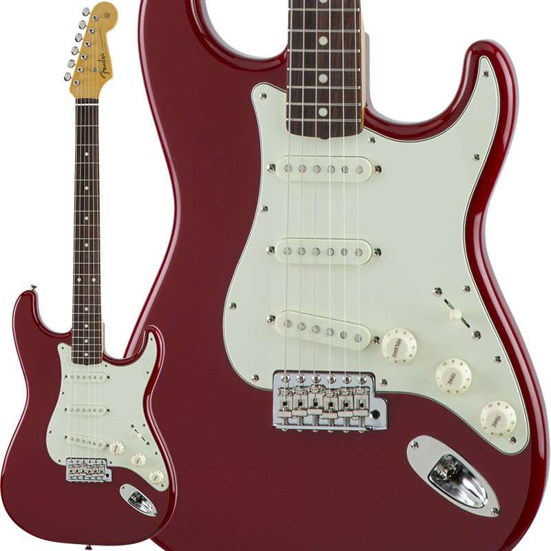 Fender Traditional 60s Stratocaster (Torino Red) [Made in Japan] 【数量限定!ギターアンプ VOX Pathfinder10プレゼント!!】 【ポイント5倍】