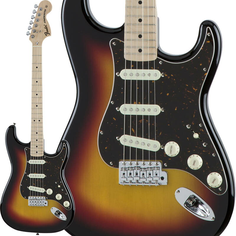 Fender Traditional 70s Stratocaster (3-Color Sunburst/Maple) [Made in Japan] 【数量限定!ギターアンプ VOX Pathfinder10プレゼント!!】 【ポイント5倍】