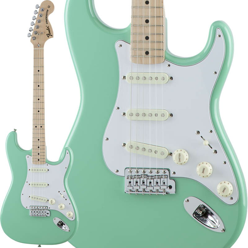 Fender Traditional 70s Stratocaster (Surf Green/Maple) [Made in Japan] 【数量限定!ギターアンプ VOX Pathfinder10プレゼント!!】 【ポイント5倍】