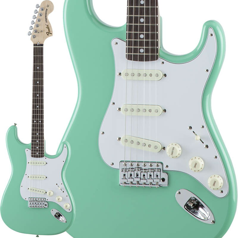 Fender Traditional 70s Stratocaster (Surf Green/Rosewood) [Made in Japan] 【数量限定!ギターアンプ VOX Pathfinder10プレゼント!!】 【ポイント5倍】