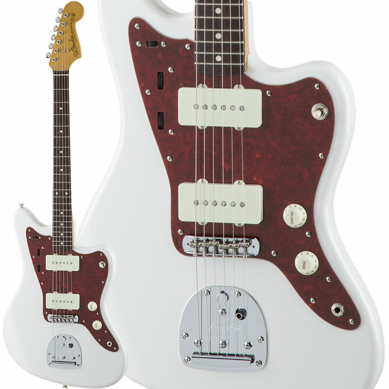 Fender Traditional 60s Jazzmaster (Arctic White) [Made in Japan] 【数量限定!ギターアンプ VOX Pathfinder10プレゼント!!】 【ポイント5倍】