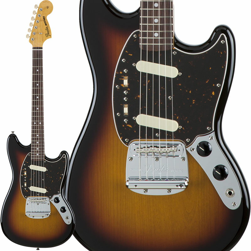 Fender Traditional 60s Mustang (3-Color Sunburst) [Made in Japan] 【数量限定!ギターアンプ VOX Pathfinder10プレゼント!!】 【ポイント5倍】
