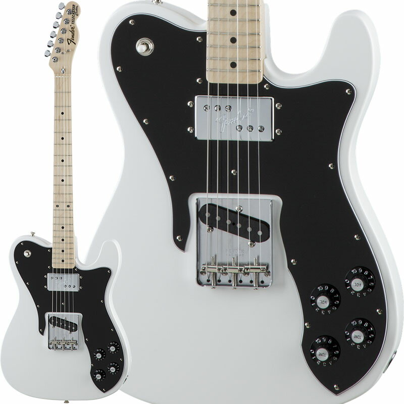 Fender Traditional 70s Telecaster Custom (Arctic White/Maple) [Made in Japan] 【数量限定!ギターアンプ VOX Pathfinder10プレゼント!!】 【ポイント5倍】